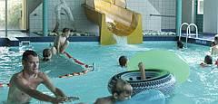 Beekse Bergen Zwembad.Beekse Bergen Zwembad Binnen Geimpregneerd Hout Beitsen